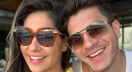 Arthur Aguiar quer voltar com Mayra Cardi