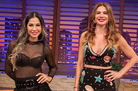 Mayra Cardi é a convidada de Luciana Gimenez