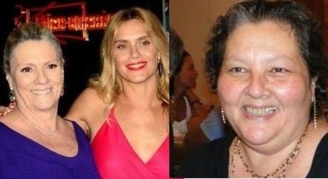 Maira, mãe de Carolina Dieckmann, e a irmã, Mônica