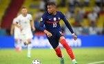 Kylian Mbappé (França) - Assim como os amigos Neymar e Marquinhos, Mbappé também não foi liberado pelo PSG para estar em Tóquio 2020. O craque francês disputa a Eurocopa com a seleção e não poderá representar seu país nos Jogos