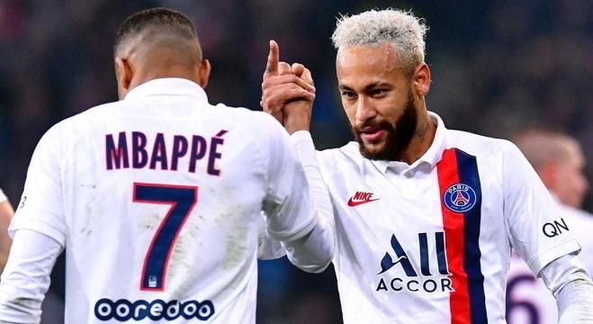 Leonardo diz que PSG tem dois dos cinco melhores do mundo: Mbappé e Neymar