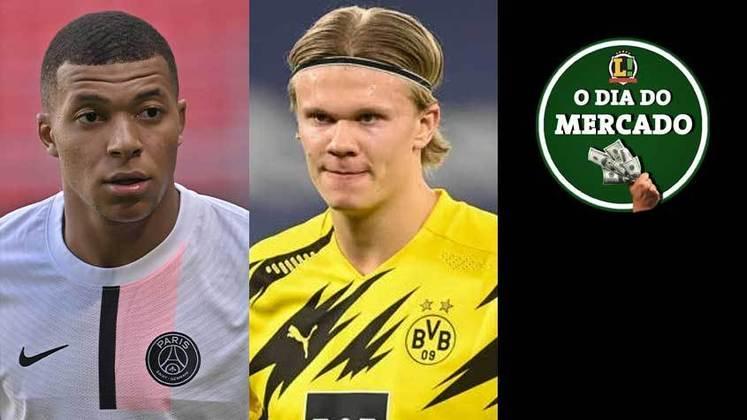 Mbappé pode ter mudança no futuro e não deixar mais o PSG. Cobiçado em grandes clubes da Europa, o Borussia deseja renovar com Haaland. Abel Ferreira já teria decisão sobre o futuro. Tudo isso e muito mais no Dia do Mercado de quarta-feira.