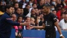 TV flagra Mbappé reclamando de Neymar em partida do PSG