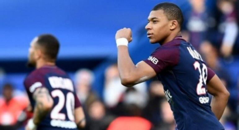 Mbappé - PSG x Angers