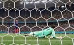 Mbappé, Sommer, Euro 2020, França x Croácia,