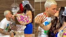 MC Gui pede namorada em casamento: 'Estava muito nervoso'