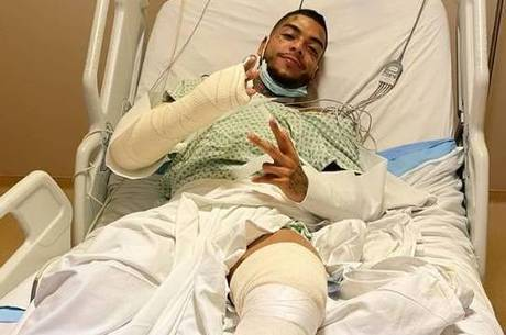 MC Kevin tranquilizou fãs após acidente: 'Estou bem'