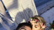 Casamento de MC Kevin e Deolane emTulum, no México, foi simbólico