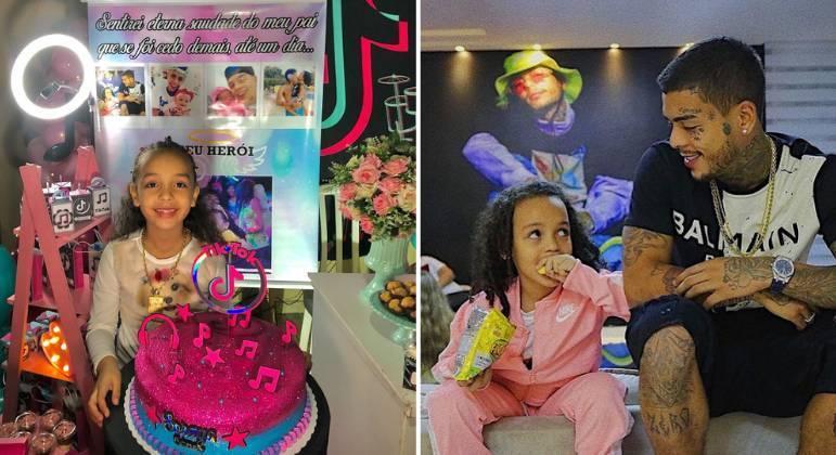 MC Kevin era pai de Soraya Bueno, que completou 6 anos