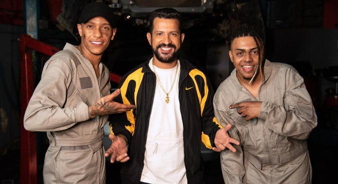 'Guerreiros de Fé' é a colaboração entre MC Paulin da Capital, Dennis DJ e MC Lipi