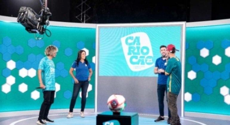 MC Samurai (tricolor) e MC Estudante (flamenguista) na Record - Carioca 2021