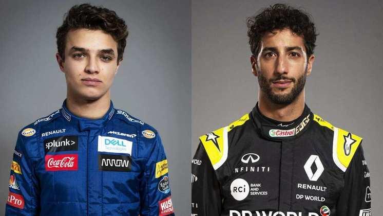 MCLAREN - Lando Norris está garantido em 2021. Daniel Ricciardo vem para o lugar de Carlos Sainz