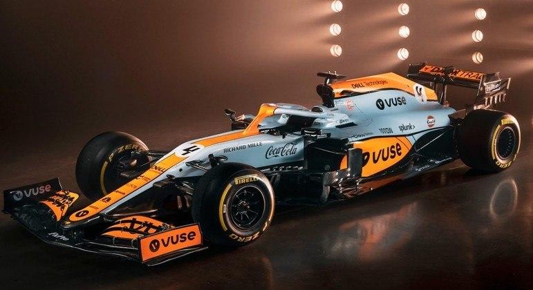 Visual do veículo e equipe receberá patrocínio de empresa de petróleo