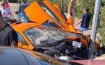 Não foram dadas informações sobre o estado de saúde de Adrian Sutil e o que teria acontecido para ele sofrer o acidente. Entretanto, o piloto alemão apareceu sentado em uma mureta logo após o acidente