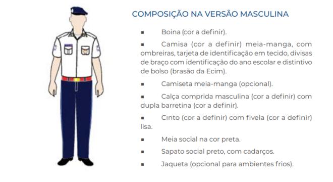 Manual determina padrão de vestimenta para alunos