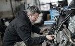 mecânica, carro, manutenção, motor, mecânico
