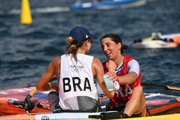 Medal Race RS:X feminina - Na regata da medalha, Patrícia Freitas ficou com a 8ª colocação. Lu Yunxiu, da China, ficou com a medalha de ouro. Charline Picon (FRA) e Emma Wilson (GBR) fecharam o pódio.