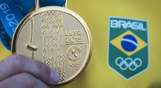Brasil  deixa Lima com o maior número de medalhas de ouro da história