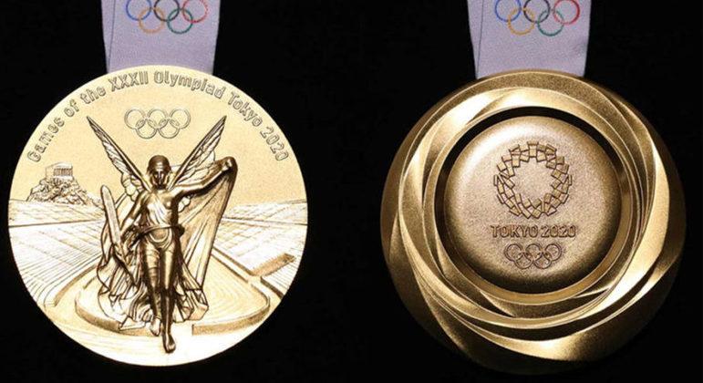 A medalha de ouro dos Jogos de Tóquio/2020