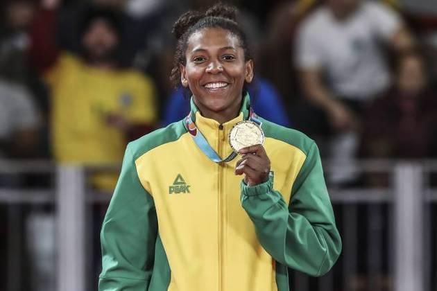 Medalha de ouro na categoria peso-leve (-57 kg), Rafaela Silva não poderá participar dos Jogos de Tóquio, pois foi flagrada no antidoping, em 2019. pela presença de fenoterol. Ela está com 29 anos