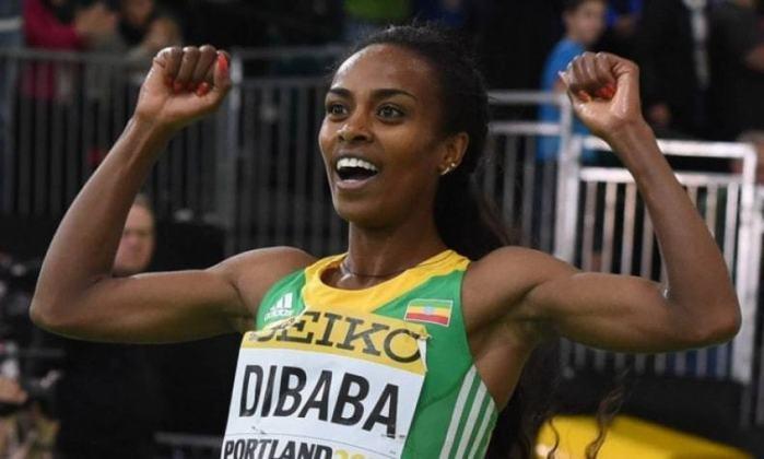 Medalha de prata nos jogos do Rio de Janeiro em 2016 na prova de 1.500 metros, a corredora etíope Genzebe Dibaba foi premiada com Laureus um ano antes, na cerimônia de 2015