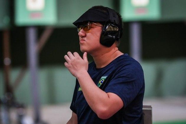 Medalhista de prata na Olimpíada do Rio em 2016, Felipe Wu decepcionou em Tóquio. O atleta brasileiro fez 95 pontos no tiro esportivo, ficou em 32º na classificação (de 36) e foi eliminado dos Jogos Olímpicos. Somente os oito melhores se classificavam.