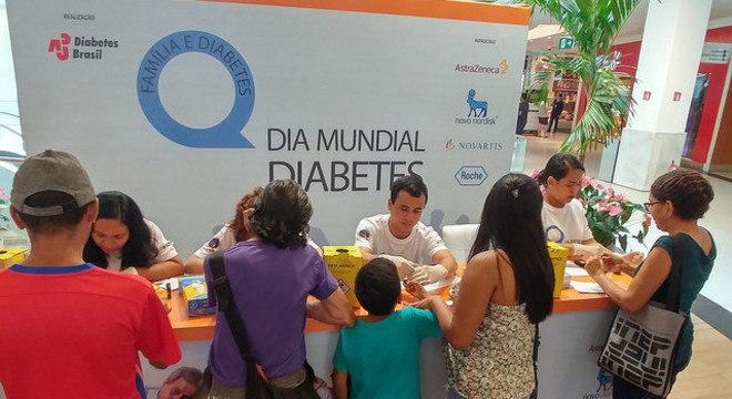 Circuito de medição de diabetes já foi realizado em Belém, no Pará