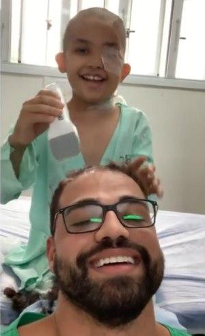 Vídeo foi feito no Dia das Crianças