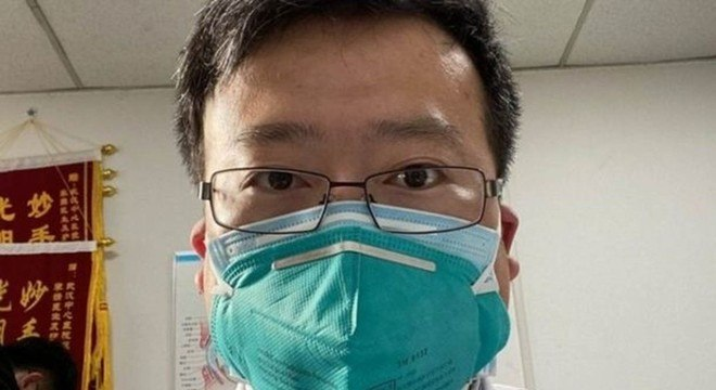 Li Wenliang contraiu o vírus enquanto trabalhava no Hospital Central de Wuhan