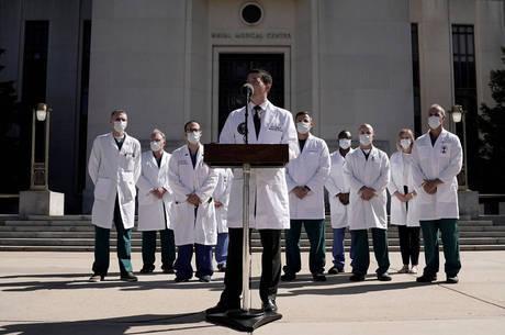 Sean Conley fala sobre o estado de saúde de Trump