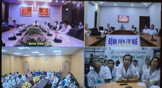 Médicos de vários hospitais discutiram a condição do Paciente 91