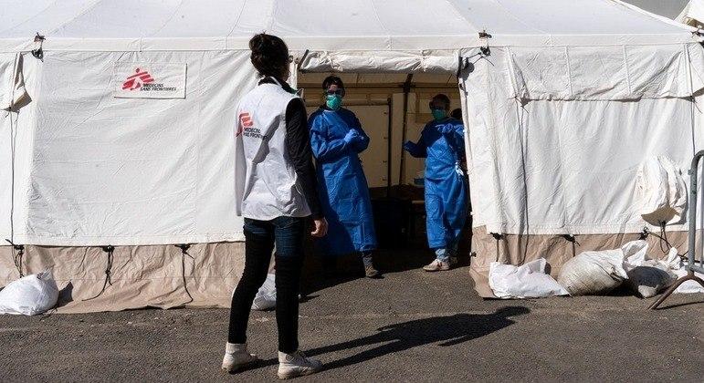 """MSF descreve o acontecimento como um """"brutal assassinato"""""""