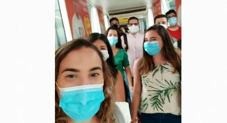 Grupo de médicos voluntário embarcaram para Manaus para atuar no combate à covid-19