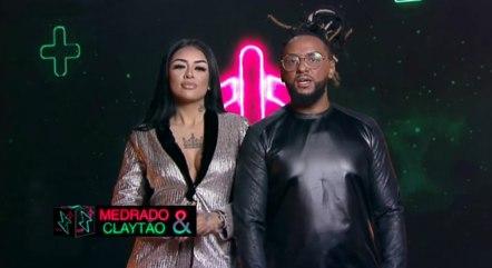 Medrado e Claytão são o primeiro casal eliminado
