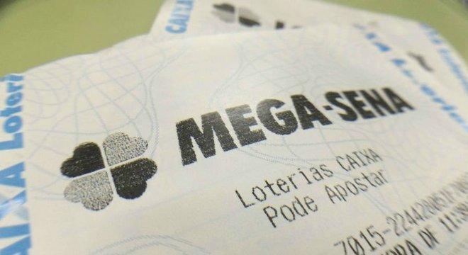 Mega-Sena acumulou neste sábado Crédito: Tiago Medina