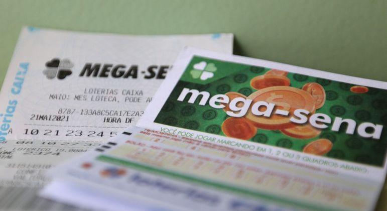 Prêmio da Mega-Sena voltou a acumular após o sorteio deste sábado