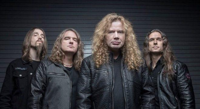 É oficial: Megadeth anuncia retorno após doença de Dave Mustaine