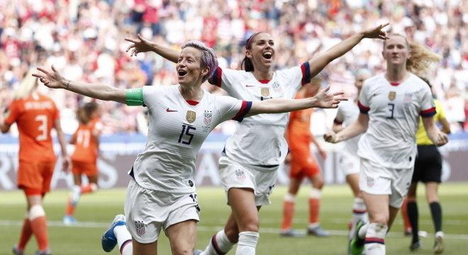Jogadoras dos EUA perderam processo em que pediam igualdade de salários