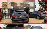 Carros de luxo foram apreendidos por policiais civis do Deic-SP.Suspeitos usam imóveis e veículos para disfarçar dinheiro do crime