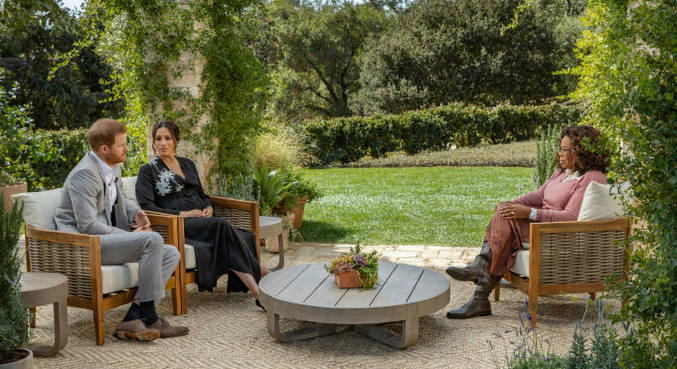Meghan, Harry e Oprah