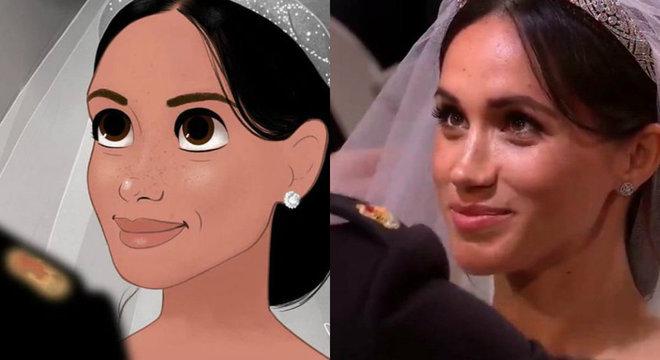 Após afastamento da família real, Meghan pode entrar para a 'realeza Disney'