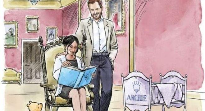 Em maio de 2019, a Disney publicou uma ilustração comemorativa em homenagem ao nascimento de Archie