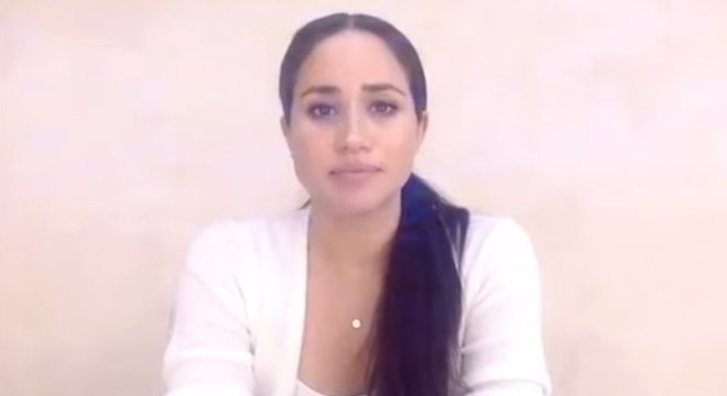 Meghan Markle afirmou em vídeo que morte de George Floyd é um episódio 'devastador'