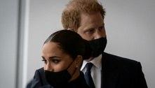 Príncipe Harry e Meghan visitam o memorial do 11 de Setembro