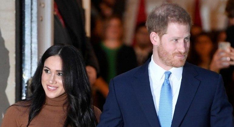 Meghan e Harry abandonaram aas funções reais em 2019