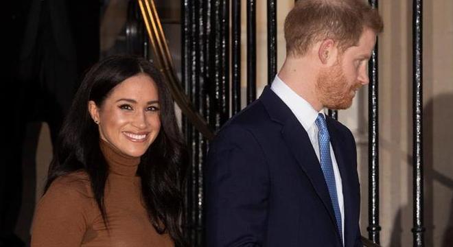 Harry e Meghan já tinham se afastado de funções públicas da família real