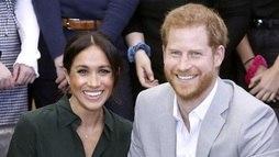 Meghan Markle está grávida do primeiro filho com o príncipe Harry ()