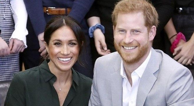 Meghan Markle está grávida de seu primeiro filho com o príncipe Harry