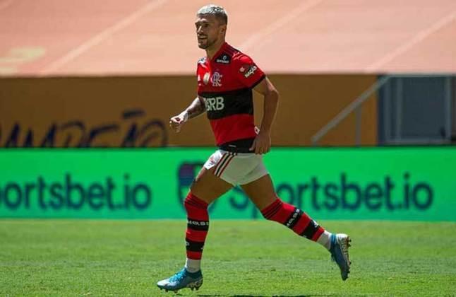 Meia: Arrascaeta (Flamengo) - 18 milhões de euros (R$ 113,4 milhões) / Raphael Veiga (Palmeiras) - 4,5 milhões de euros (R$ 28,3 milhões).