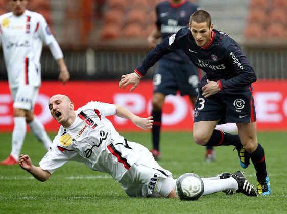 Meia: Jérémy Clément (francês) - 26 anos na época (entrou no lugar de Claude Makélélé aos 3 minutos do segundo tempo) - camisa 23 - atualmente aposentado como jogador